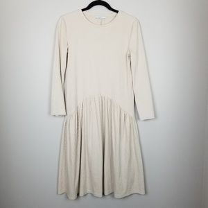Zara midi dress, cream